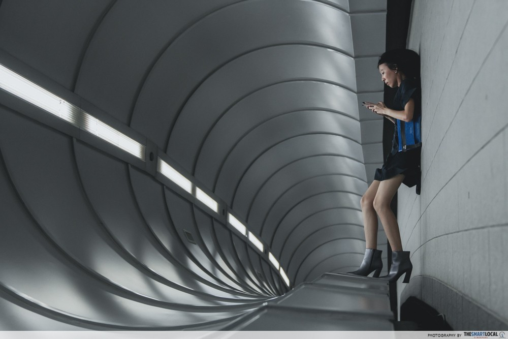 5 Trippy Looking Walkways In Singapore To Create The Optical Illusion Look For Your #OOTD