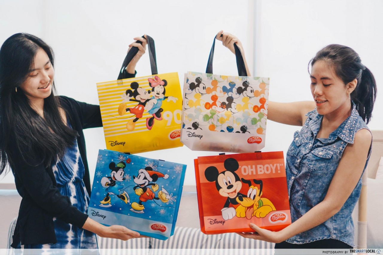 Magnolia Is Giving Away Limited Edition Disney's Mickey Mouse Tote Bags & Stickers With Every Purchase