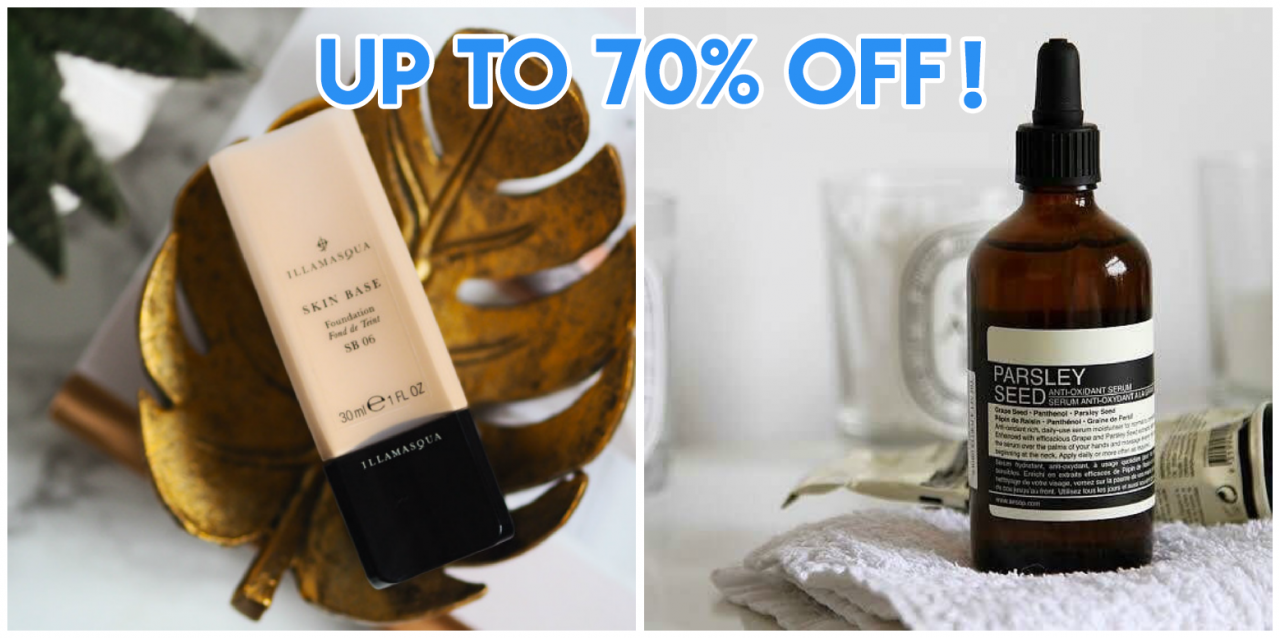 4 Beauty E-stores With Discounts Up To 70% Off To Bookmark for Singles Day & Black Friday