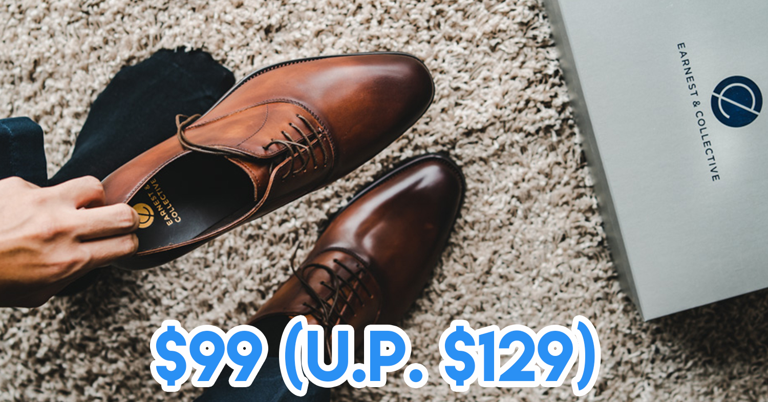 Earnest & Collective Has All Their Leather Shoes Going For Just $99 On 11.11 and 12.11