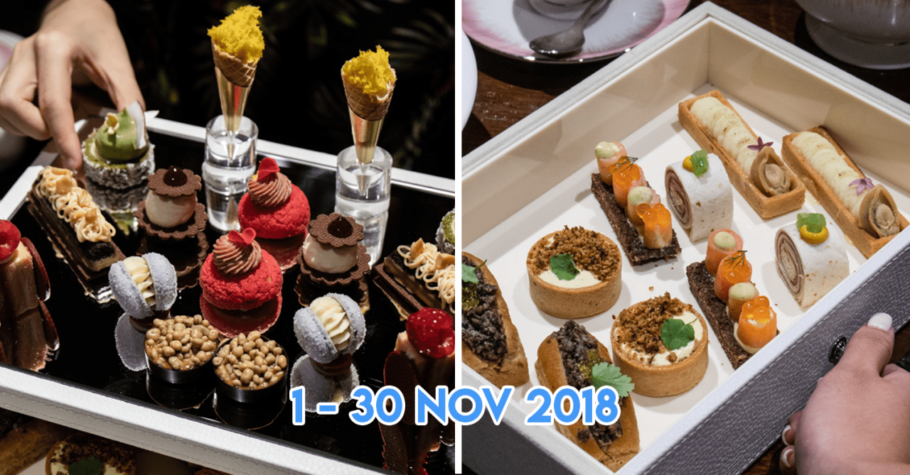 Anti:dote's $50 Afternoon Tea Set Special Has Over 15 Dishes - Including Foie Gras & Abalone
