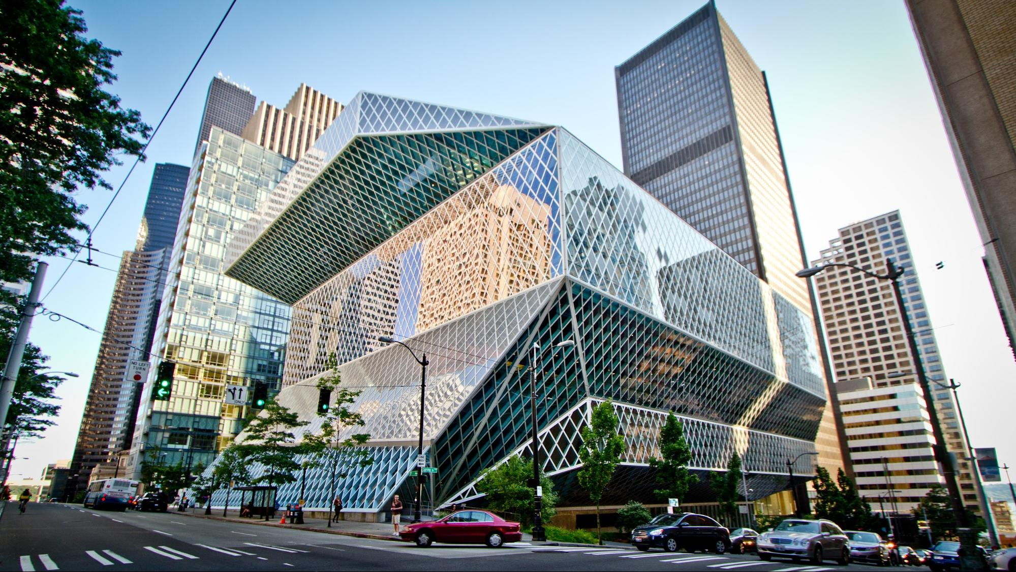 Seattle travel guide SIA - seattle public library