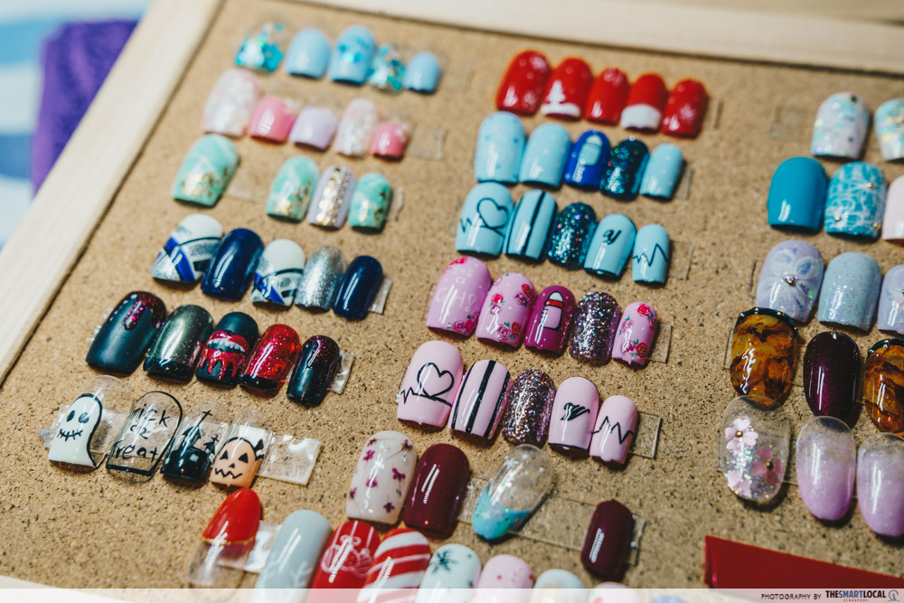 cisters' studio nail art selection