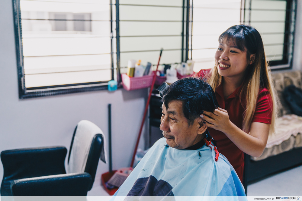 queen's beauty palace haircut