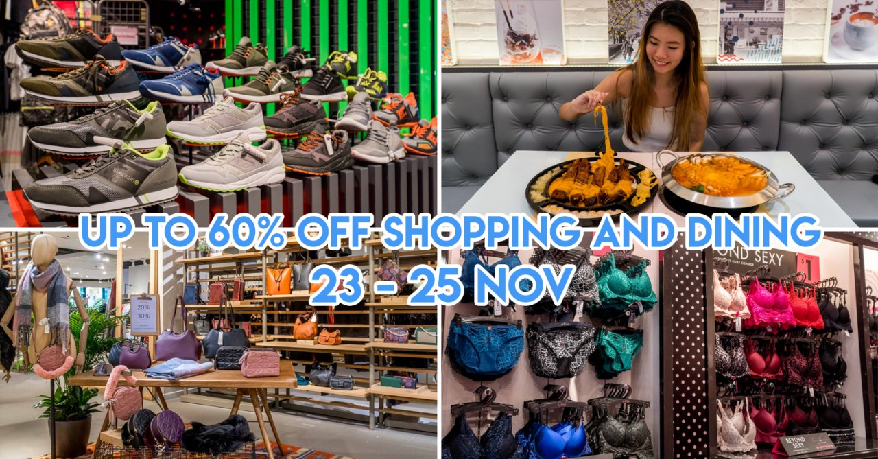VivoCity Black Friday Sale - Storewide Offers & 1-For-1 Discounts In Over 90 Stores For 3 Days Only