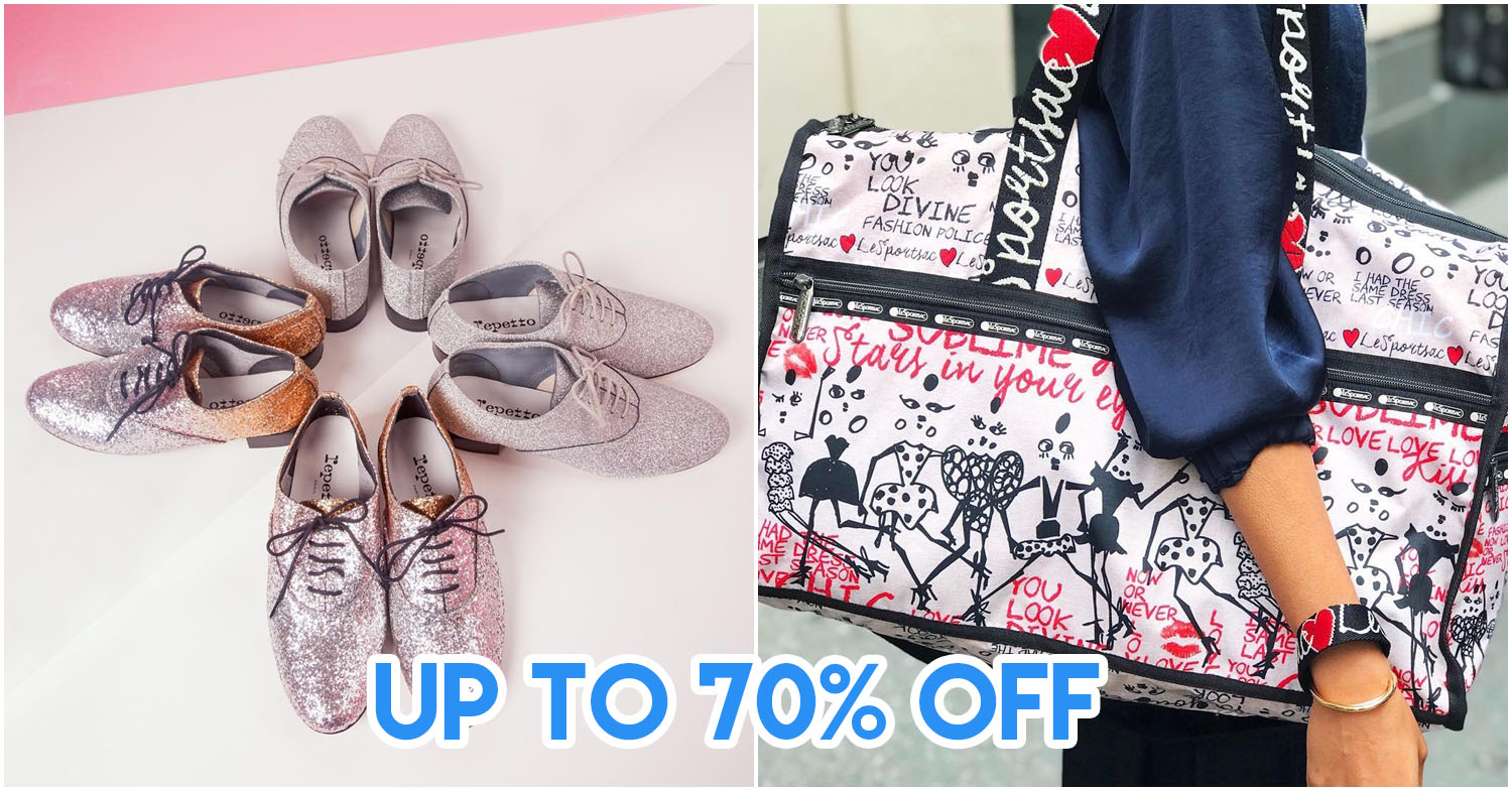 These 9 Brands Are Offering Up To 70% Off Clothes, Shoes, & Bags From Now Till 31 Dec 2018