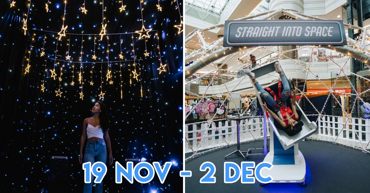 Junction 8 Is Having A Space Themed Xmas With Simulation Rides & Pop-up Market