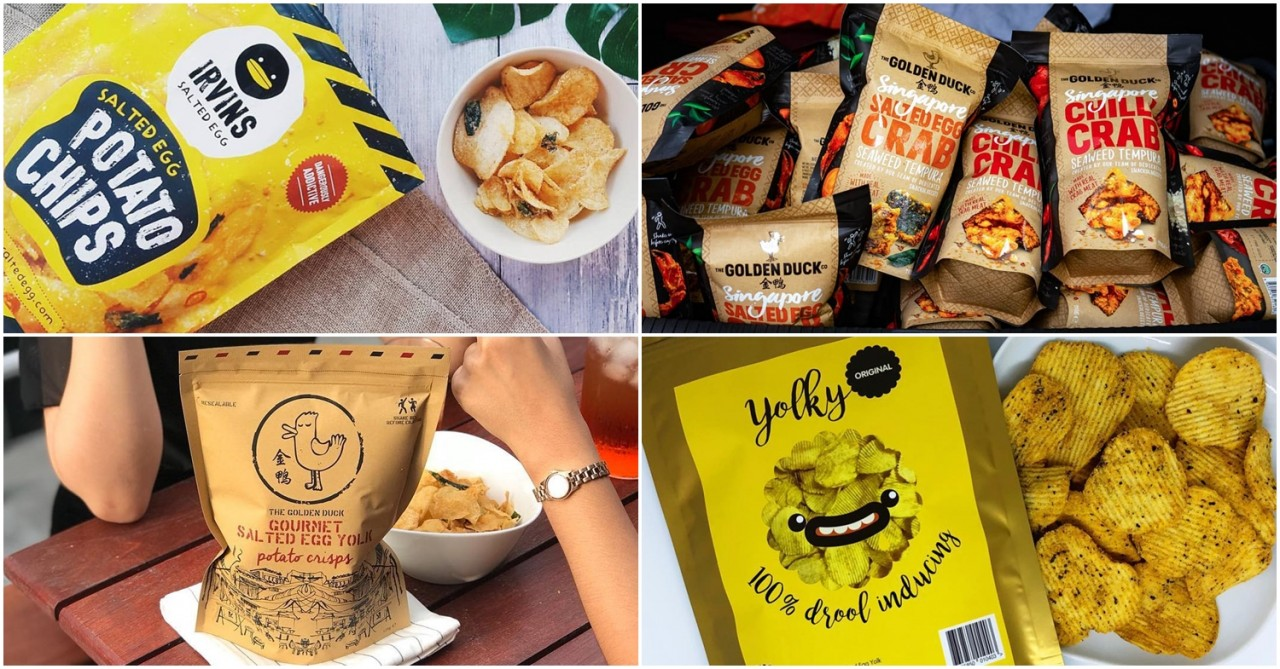 10 Salted Egg Chip Brands In Singapore For People Whose Addictions Have Reached Level 99