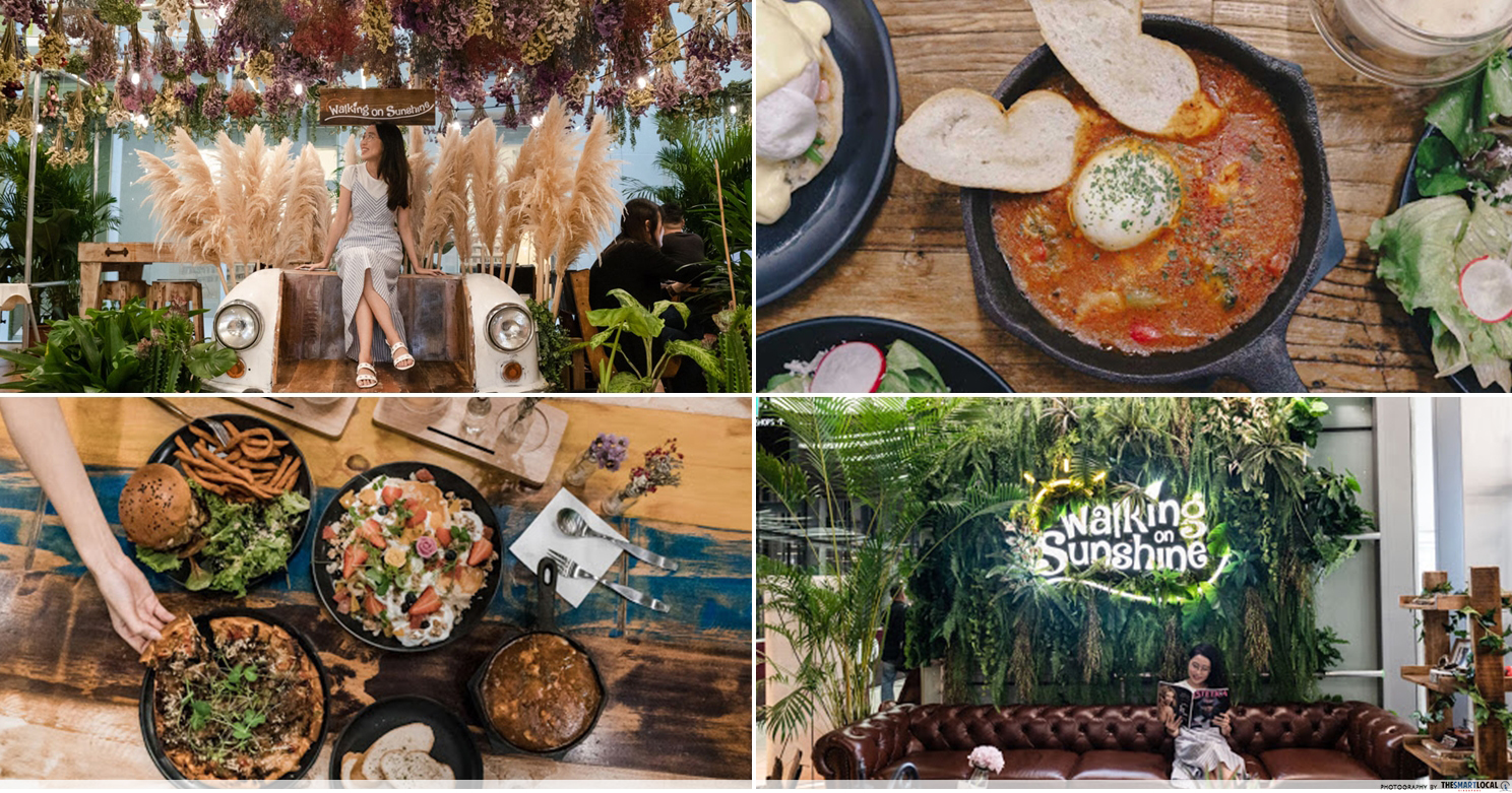 Walking On Sunshine - New Garden-Themed Cafe In OC With $15 Beer Buffets & A Korean Beauty Salon