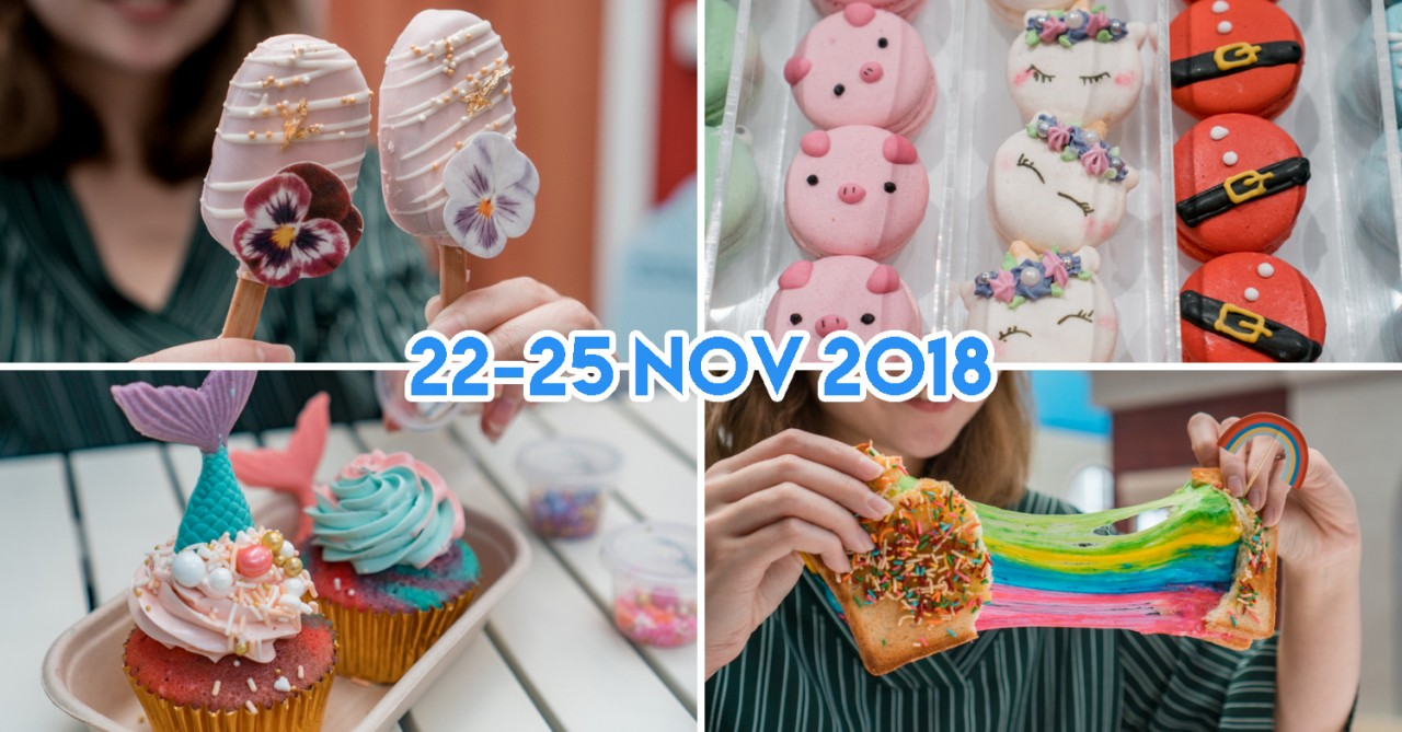 Marina Square's Whimsical Food Fair 2018 Is Back With Floral Cake Pops, DIY Mermaid Cupcakes & Rainbow Cheese Toast