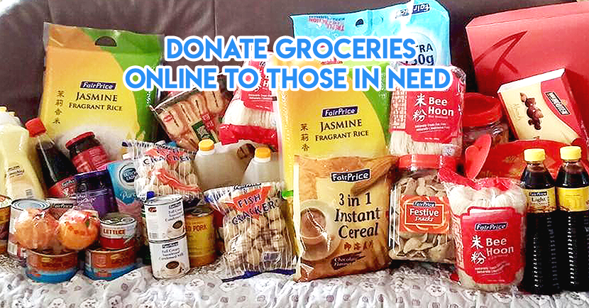 FairPrice Is Helping Singaporeans Donate Groceries To Over 70 Charities This Christmas