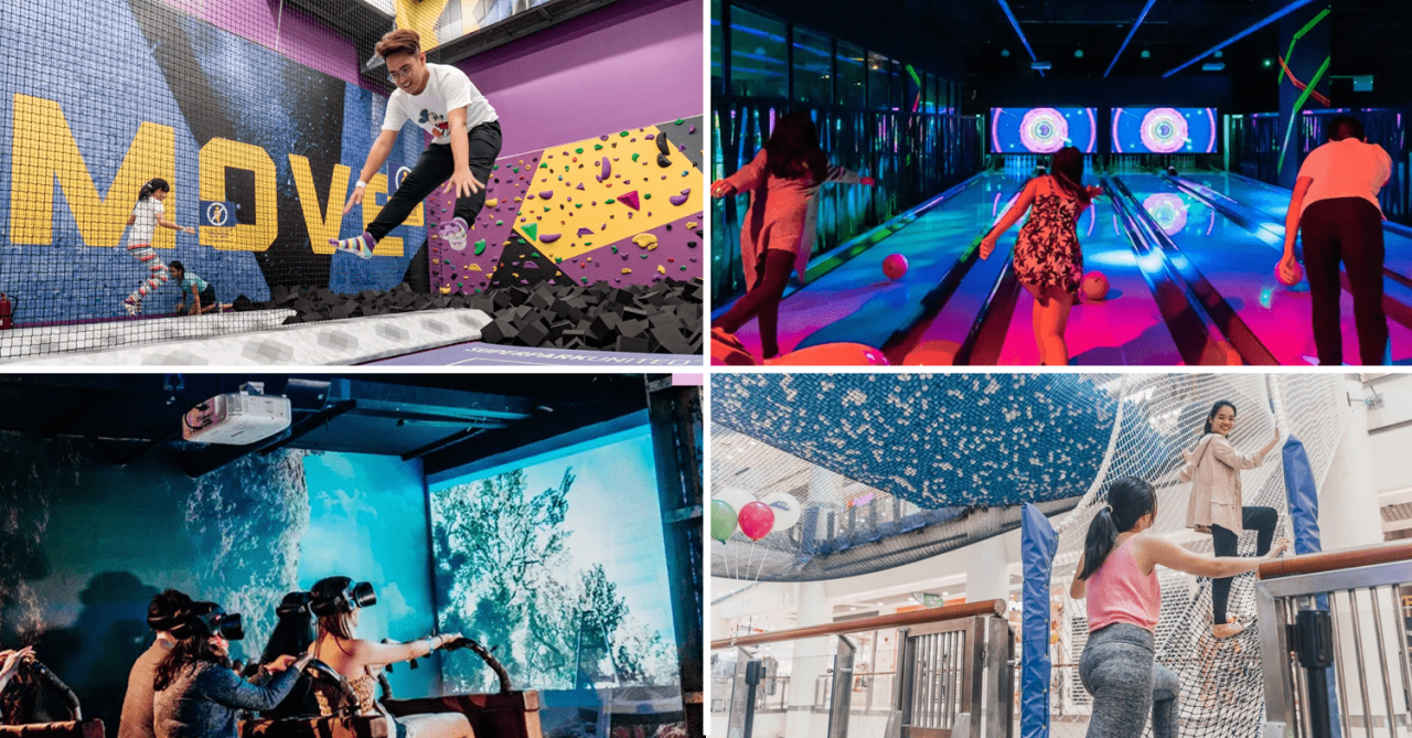 13 New Attractions In Singapore That Opened In 2018 - Axe Throwing, Golf Bar, & VR Theme Park