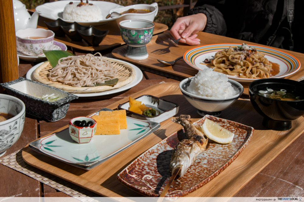 Nagano kamokochi matsumoto guide - la belle foret soba duck grilled mountain trout