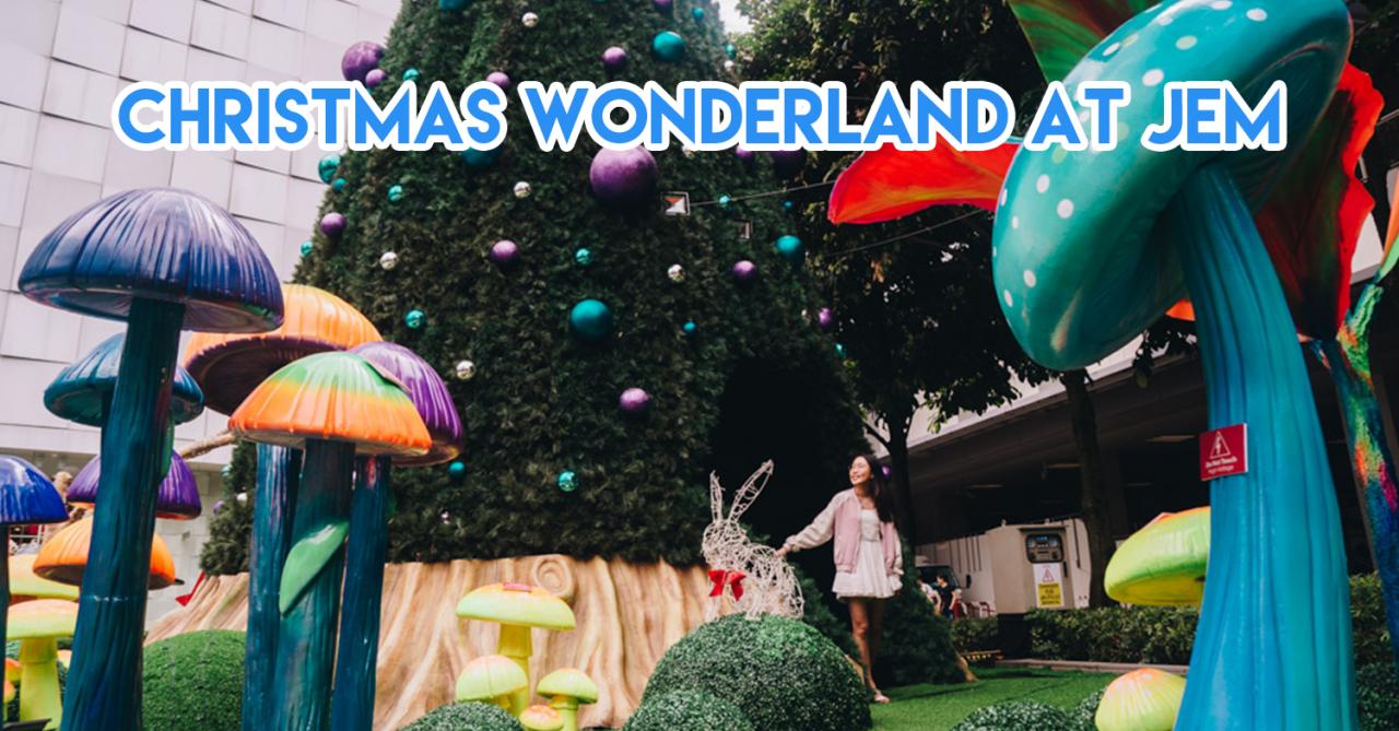 Jem's Wonderland-Themed Christmas Brings You Craft Workshops For Kids & Limited Edition Bunny Umbrellas