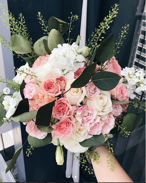 sophia's wedding bouquet