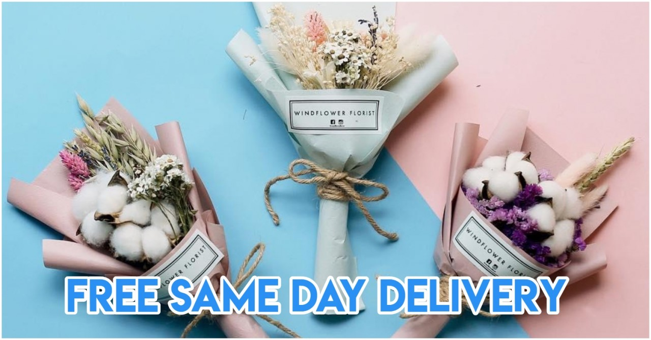 11 Flower Delivery Services In Singapore With Affordable Bouquets From $10