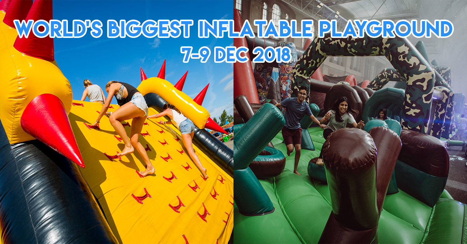 The Beast Is The World's Largest ADULT ONLY Inflatable Pop-Up For Grown-ups To Go Ham