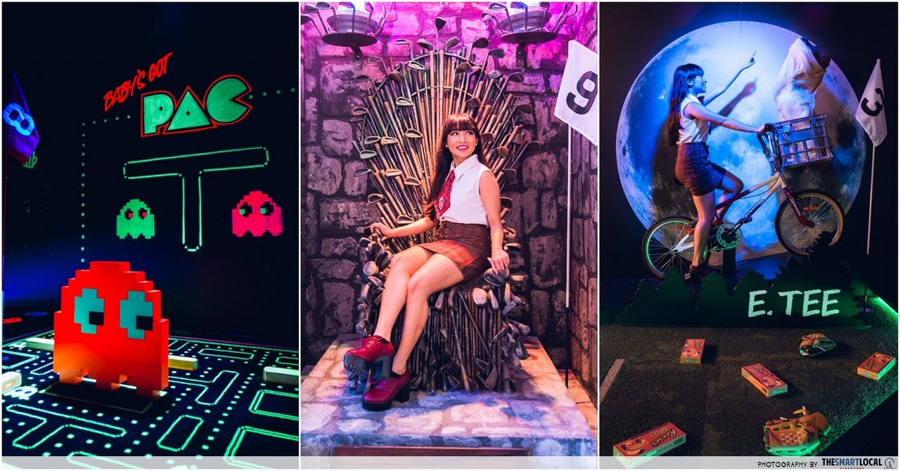 Holey Moley - New Mini-Golf Bar In Clarke Quay With Quirky Themed Courses & 1-Metre Pizzas
