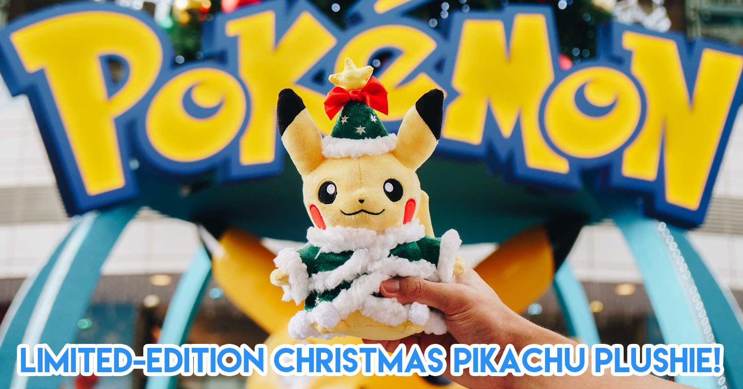 There's A Pokémon Carnival In AMK Hub, Jurong Point & Thomson Plaza With Limited Edition Pikachu & Eevee