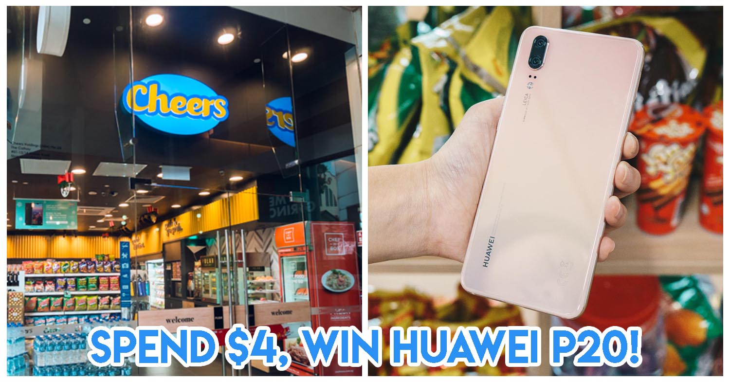 This Xmas Contest by Cheers Gives Out A HUAWEI P20 Weekly Among 200 Other Prizes