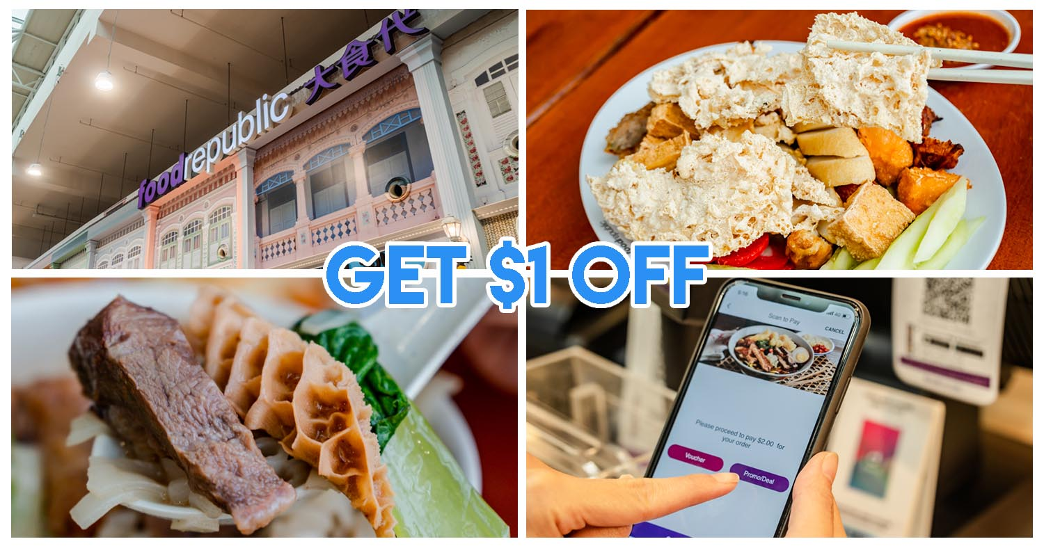 All Food Republic Outlets Are Giving You $1 Off Meal Purchases Through Their Rewards App