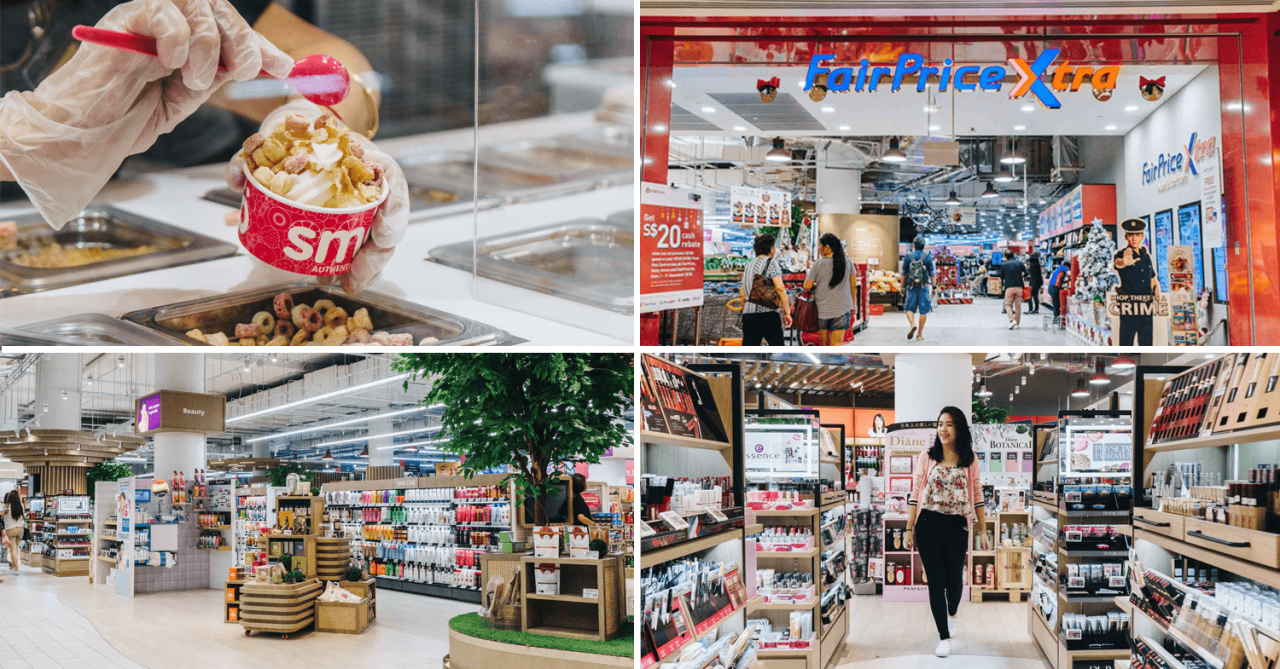 AMK's FairPrice Xtra Has Been Revamped With A Refreshed Unity Store And Kellogg's Café