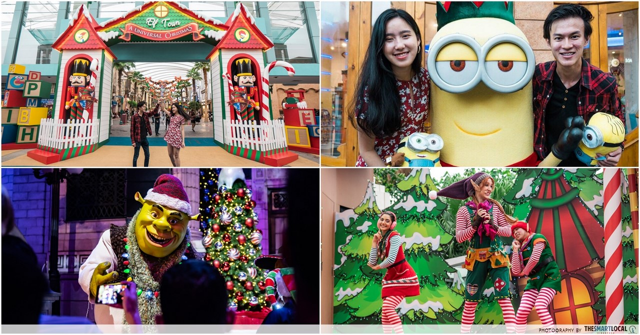 "Universal Studios Singapore™ Is Going To Have An Elf Town, ""Snowfall"" And The Largest Ever Street Parade This Christmas"