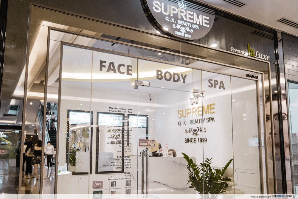 supreme q.x. beauty spa