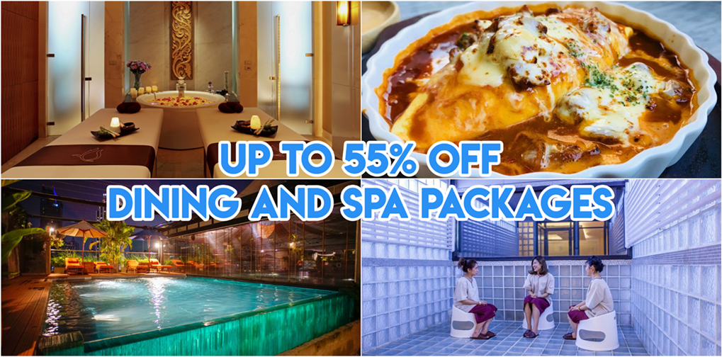UTU Rewards Thailand - 5 Dining & Spa Deals You Can Redeem In BKK With This App