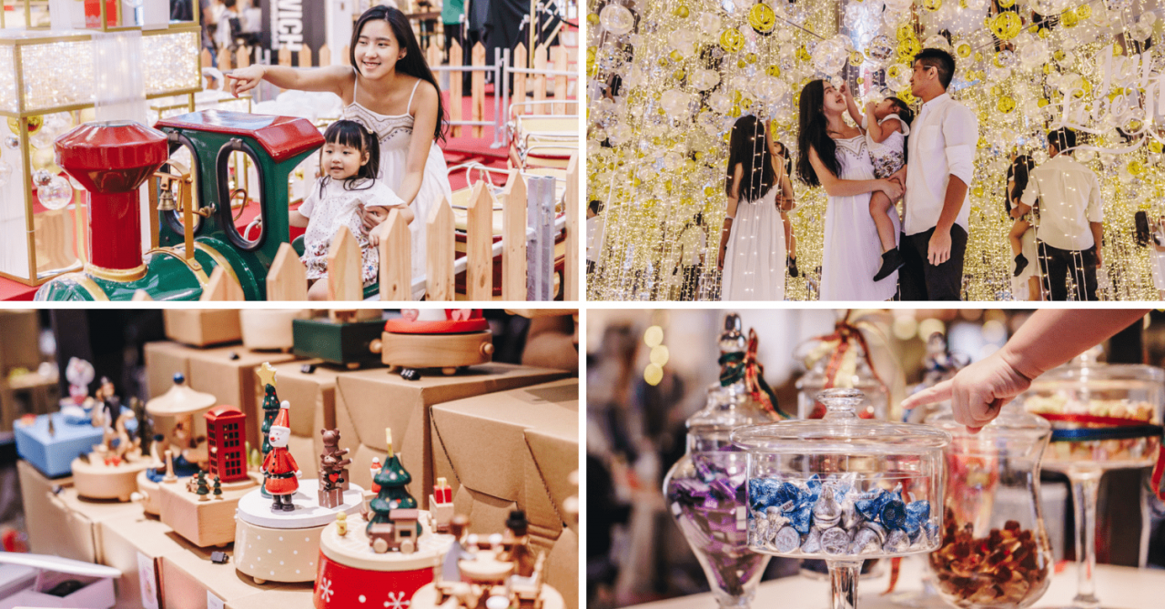 Clarke Quay Central Offers A Candy Buffet, Craft Workshops And A Host of Performances For The Whole Fam This Christmas