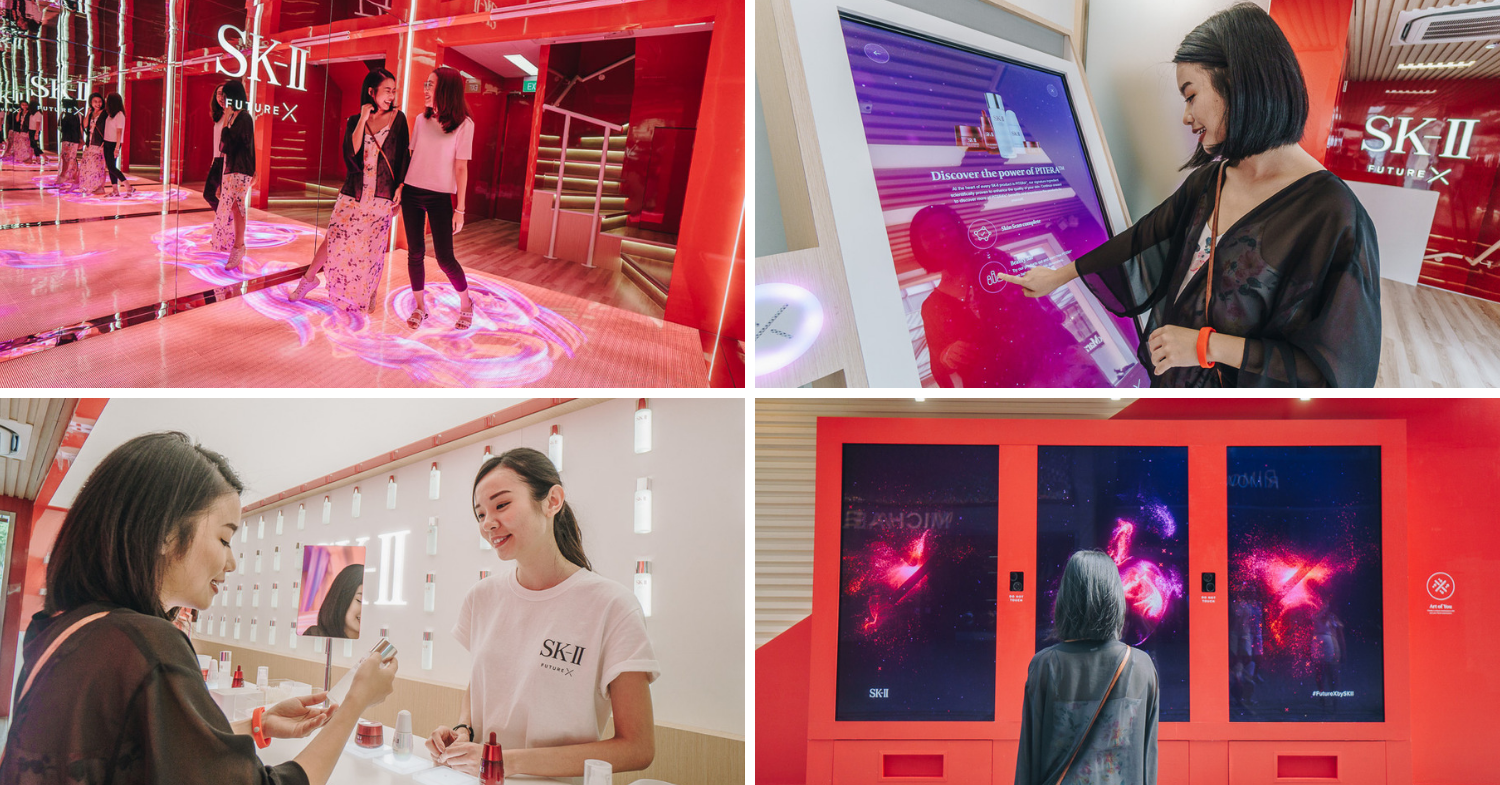 Future X: SK-II's First-Ever Smart Store In SEA Shows Us The Future Of Beauty Technology