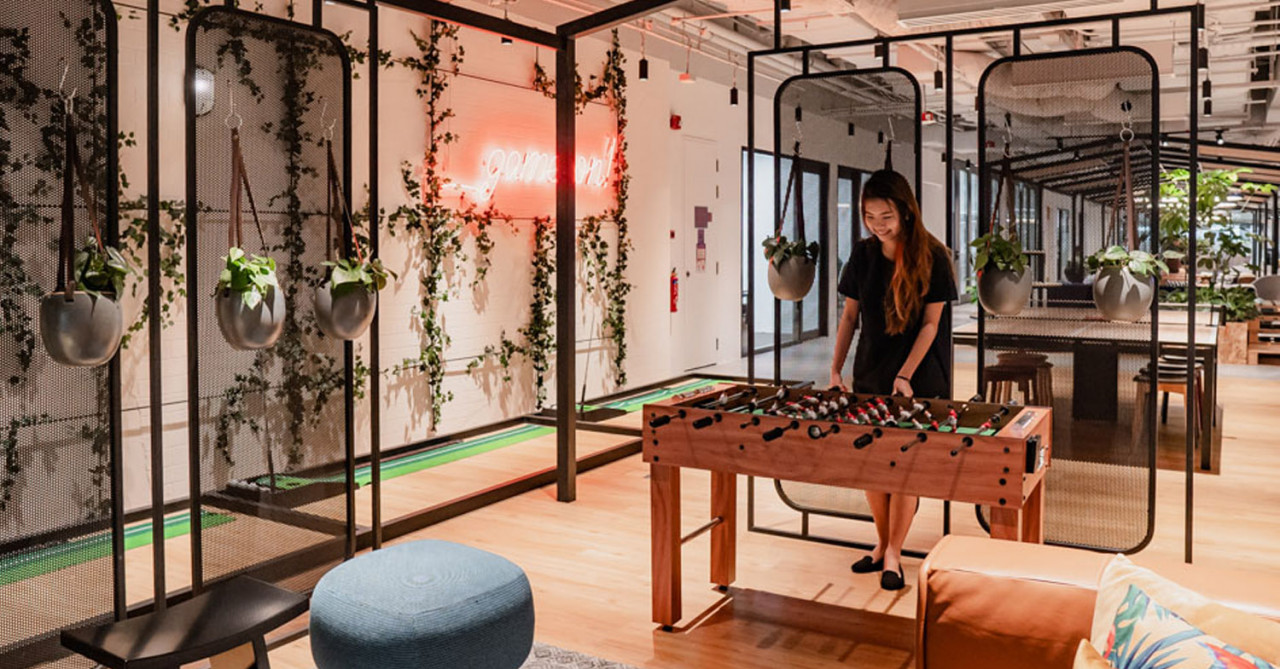 8 Co-Working Spaces In Central Singapore Including Offices With Free Breakfasts And A Mini Golf Course