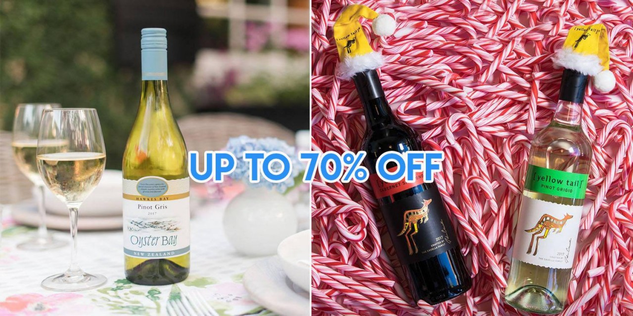 You Can Buy Unlimited Wines & Champagne At DFS Changi At Up To 70% Off For Your Year-End Parties