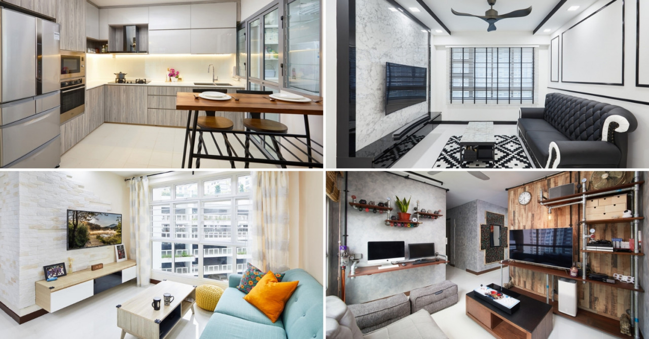 5 HDB Renovations In Singapore You Won't Believe Were Done On A $30,000 Budget