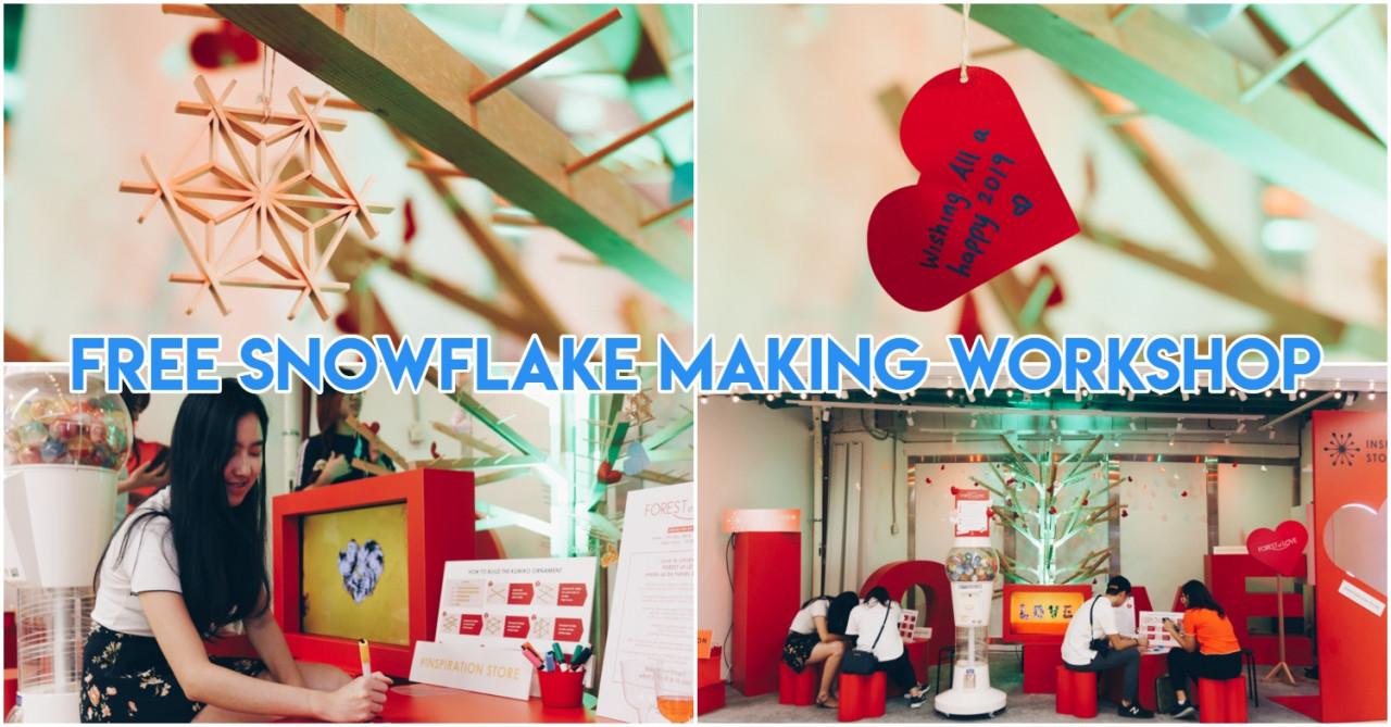 Inspiration Store At Orchard Xchange Teaches You To Make Japanese-Style Christmas Ornaments With Personal Messages