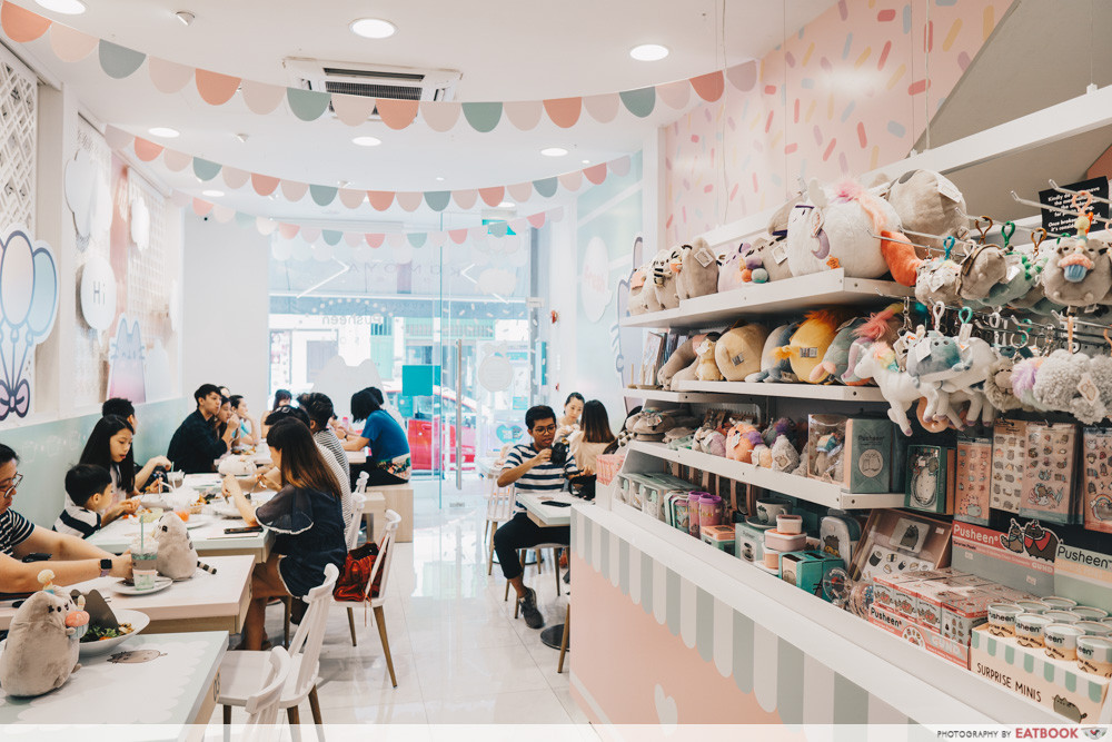 New restaurants - January 2019 - Pusheen Cafe