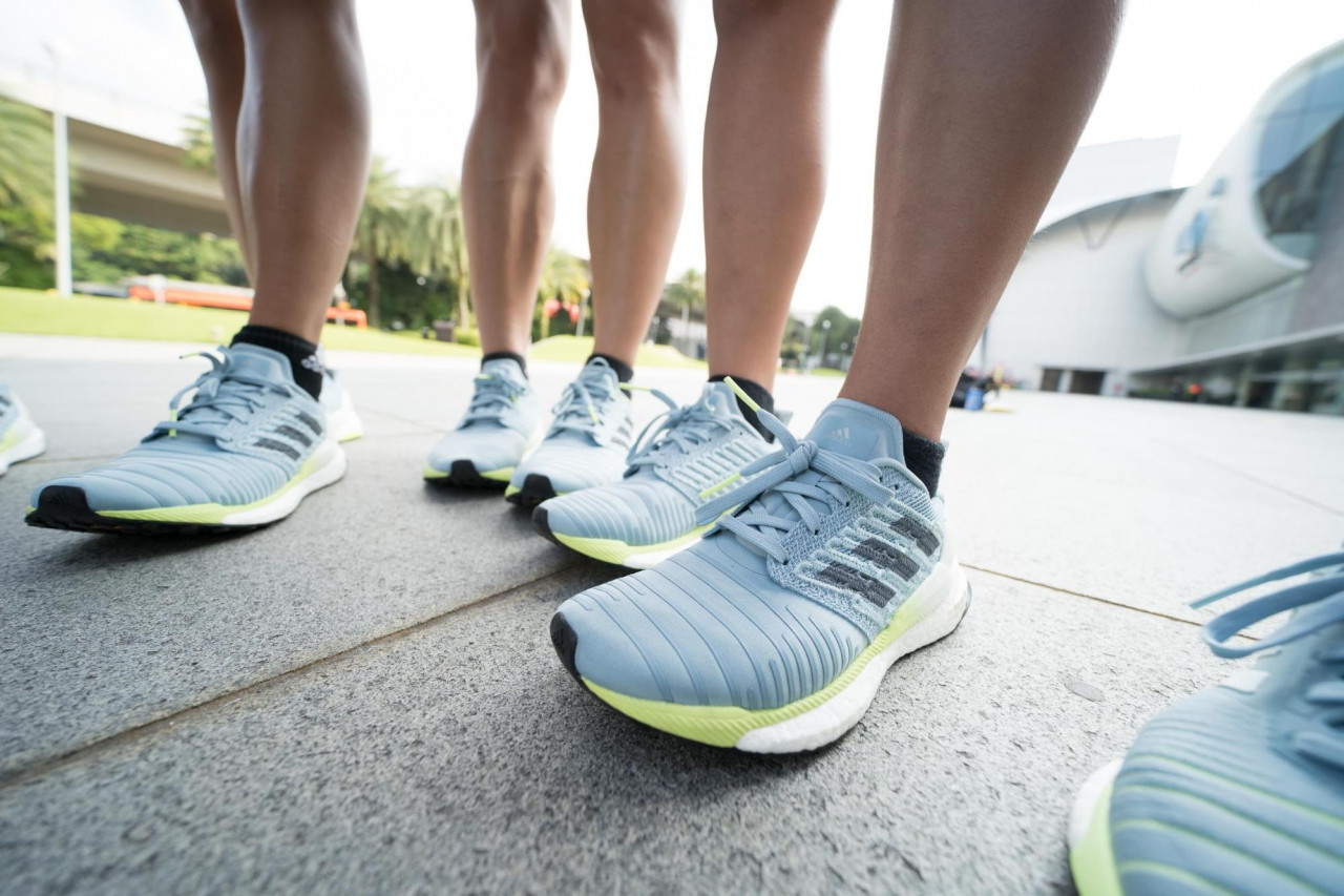 """e3872c9bc We Tried The adidas Solar Boost Running Shoes For Our """"New Year"""