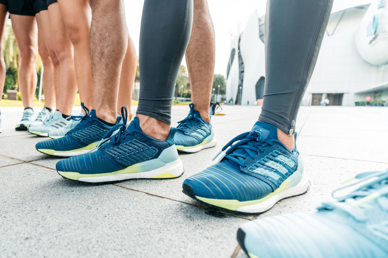 """10ed6d901ed12 We Tried The adidas Solar Boost Running Shoes For Our """"New Year"""
