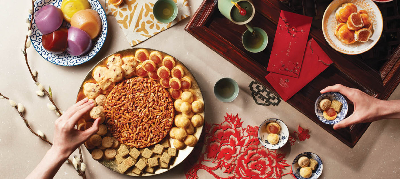 Lunar New Year - Mandarin Orchard dining deal