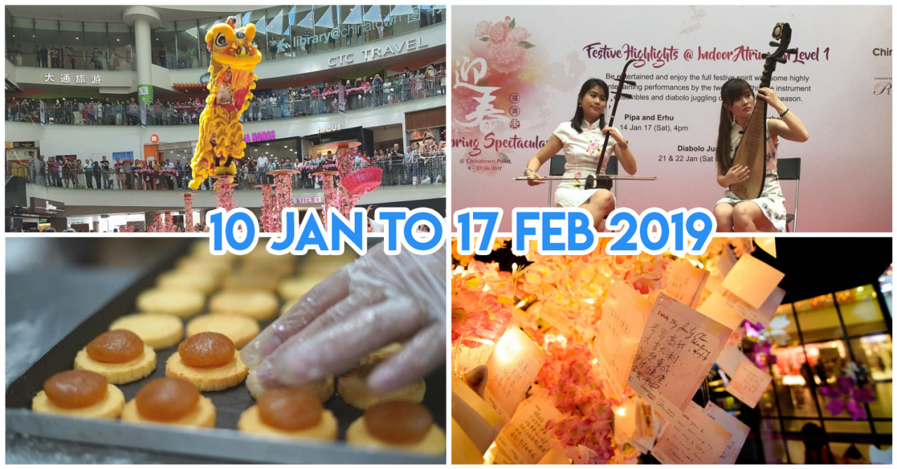 Chinatown Point Has Free Live Performances, Wushu Workshops & Mala Vouchers To Be Won This CNY