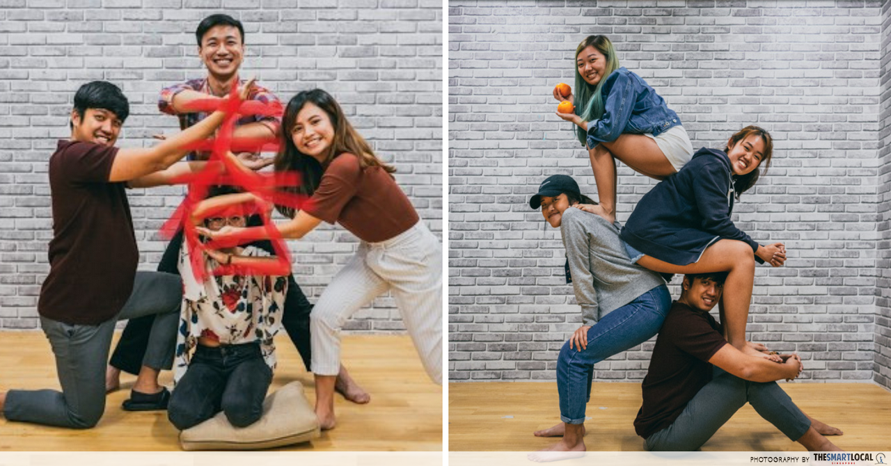 "8 Super Extra Group Photo Poses That Will Take ""Fun Shot"" To Level 99 This CNY"