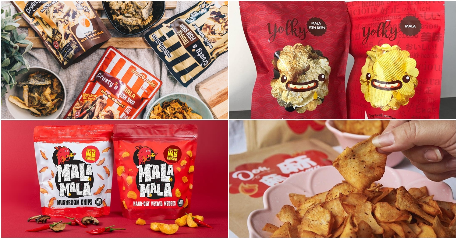 """8 Mala Chip Brands In Singapore For All Tolerance Levels From """"Xiao La"""" To """"Te La"""""""