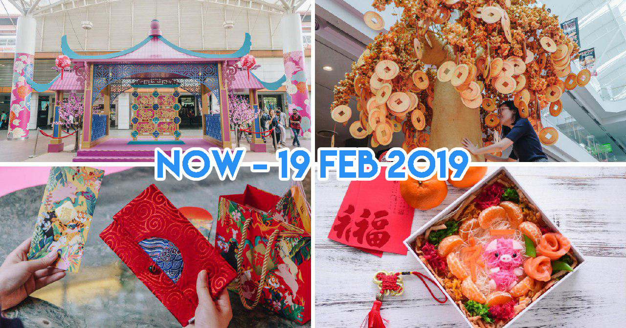 Jurong Point Has Photoworthy Pavilions With Yanxi Palace Vibes & Yusheng Styling Workshops This CNY