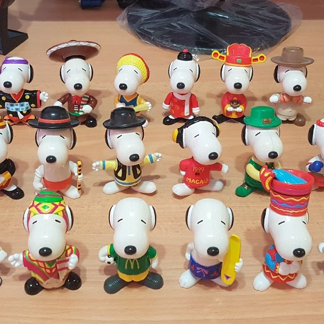 snoopy happy meal toys singapore