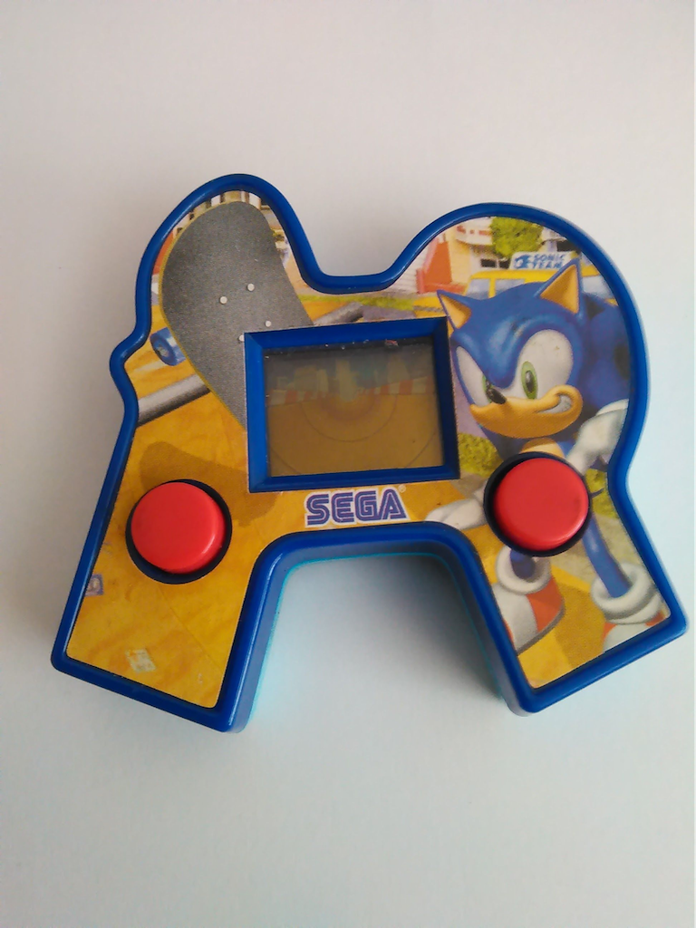 sonic game console happy meal toy singapore 2004