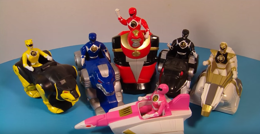 power rangers mighty morphin happy meal toy singapore