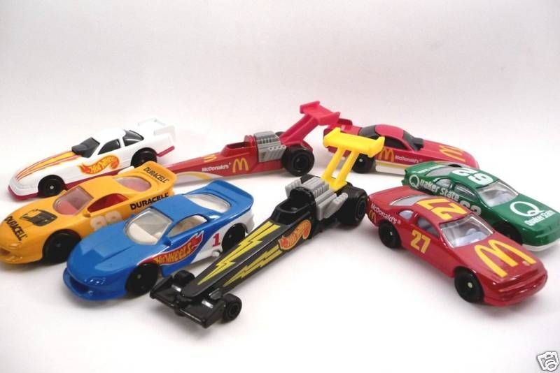 happy meal toys hot wheels singapore