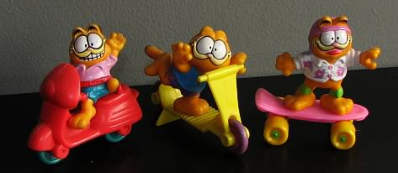 garfield singapore happy meal toy