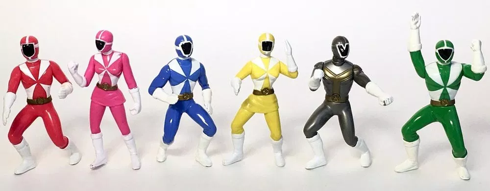 mighty morphin power rangers singapore happy meal toy