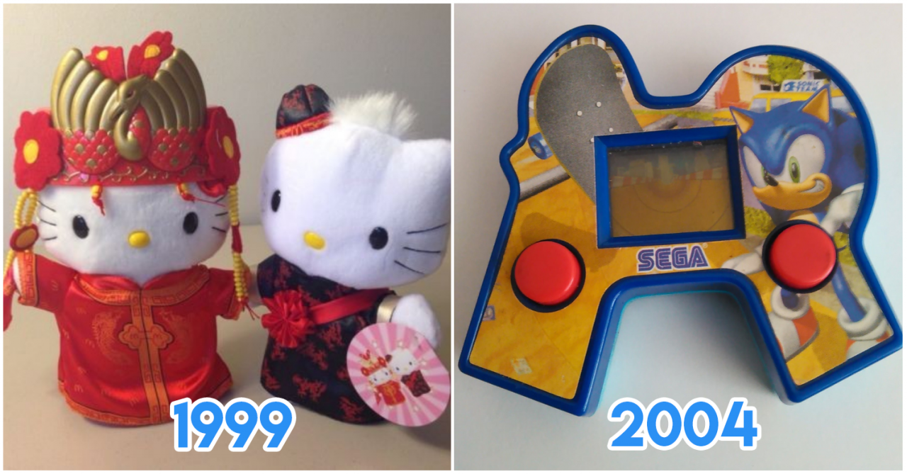 11 Iconic McDonald's Happy Meal Toys 90s Kids In Singapore Used To Collect